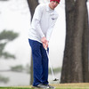 Joplin golfer Joel Martin putts onto the no. 7 green on Thursday at Twin Hills.<br /> Globe | Laurie Sisk