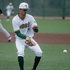 Missouri Southern's Zach Parish fields a bouncing grounder during Friday's game against Missouri Western at Missouri Southern.<br /> Globe | Roger Nomer