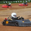 Globe/Roger Nomer<br /> Jordan Daugherty, 16, Joplin, heads into the straightaway at Eaglewood Speedway during a practice run on Saturday.