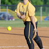 Diamond pitcher Tressia Green delivers a pitch during the Wildcats' Class1, District 11 semifinal game against College Heights on Tuesday at Diamond.<br /> Globe | Laurie SIsk
