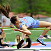 Webb City's Allary Liberatore leaps to a second place finish in the high jump