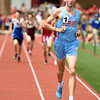 Webb City's Ryan Riddle captures the Class 4 District 6 1,600m title on Saturday at Carl Junction.<br /> Globe | Laurie Sisk