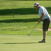 Joplin's Chris Pryor putts during sectional play at Schifferdecker Golf Course on Monday.<br /> Globe | Roger Nomer
