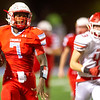 Webb City runningback Durand Henderson gets past the Carl Junction defense for a 67-yard touchdown run during their playoff game on Friday night at Webb City.<br /> Globe | Laurie Sisk