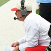 Webb City head coach John Roderique watches fom the sidelines during last week's semifinal game at WCHS.<br /> Globe | Laurie Sisk