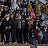 Joplin High School students cheer on the Eagles during their District Championship game on Friday at Junge Stadium.<br /> Globe | Laurie Sisk