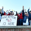 Joplin students cheer on thir Eagles during their Class 6 Championship game on Saturday in Columbia.<br /> Globe | Laurie Sisk