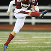 Globe/T. Rob Brown<br /> Joplin's Brock Renken kicks the ball off to Kickapoo Friday night, Oct. 19, 2012, at Junge Stadium.