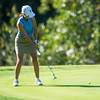 Globe/Roger Nomer<br /> Webb City's Macy McAllister putts on Monday at Briarbrook Golf Course.