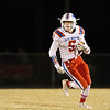 Globe|Israel Perez<br /> East Newton's Dustin McDermott runs the ball gaining yards against Seneca during their game against on Friday night at Seneca High School.