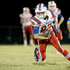 Globe|Israel Perez<br /> East Newton's Jacob Allman runs the ball gaining yards against Seneca during their game against on Friday night at Seneca High School.