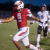 Webb City's Devrin Weathers runs the ball in for a touchdown against Willard during Friday's game at Webb City.<br /> Globe | Roger Nomer