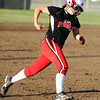 Carl Junction's Tasha Steele rounds third before heading home for a run against Carthage Monday evening, Sept. 30, 2013, at Carl Junction's softball field.<br /> Globe | T. Rob Brown