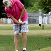 Hayden McElroy, of Neodesha, hits a chip shot onto the green during the first day of the Ozark Amateur on Saturday at Schifferdecker Golf Course. This year marks the 70th anniversary of the tournament.<br /> Globe | Laurie Sisk