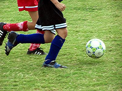 Floating Soccer Ball