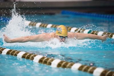 NCAA Mens Swimming 2014: Dennis Stark Relay OCT 10