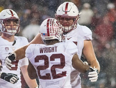 NCAA Footbal 2015: Stanford vs Washington State OCT 31