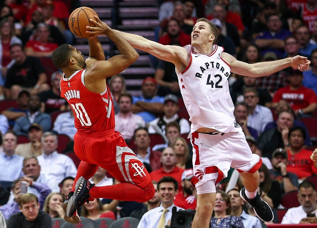 NBA: Toronto Raptors at Houston Rockets