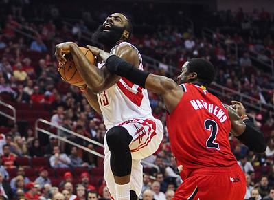 NBA: Portland Trail Blazers at Houston Rockets