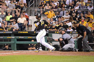 Andrew McCutchen hits a double
