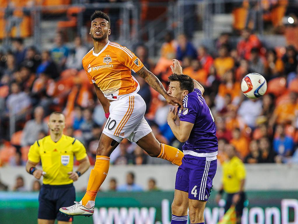 MLS: Orlando at Houston Dynamo