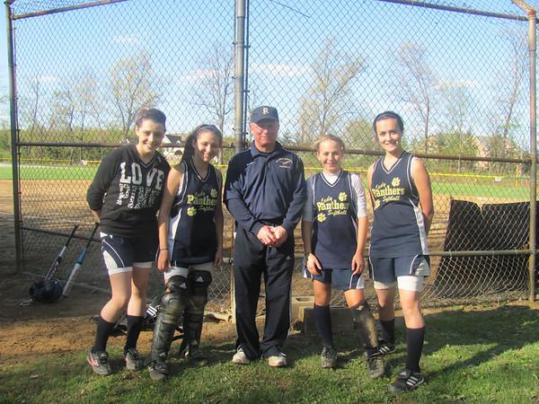 2014 School Softball Team