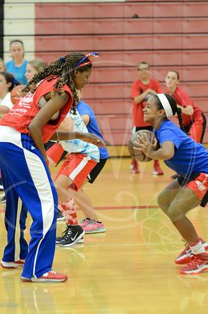 Lakota West Girls Basketball Camp 6.10.14
