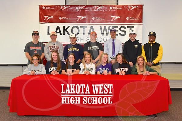 Lakota West Fall Signing Day 11.9.16