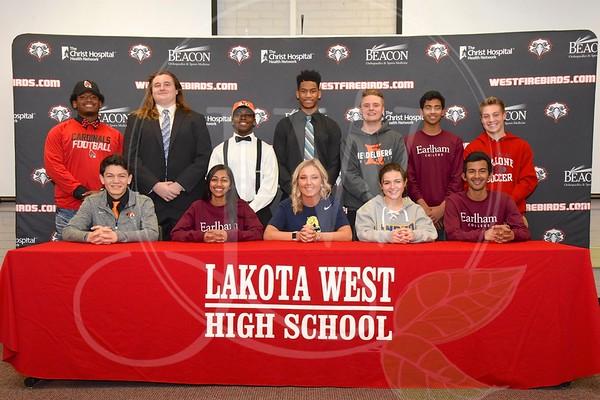 Lakota West HS Winter Signing Day (2.1.17)