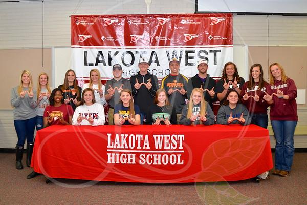 Lakota West Signing Days