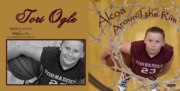 Tori Ogle Basketball Album 2008