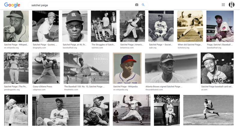"""Satchel Paige<br /> <a href=""""https://www.baseball-reference.com/register/player.fcgi?id=paige-001ler"""">https://www.baseball-reference.com/register/player.fcgi?id=paige-001ler</a><br /> <br /> <a href=""""https://www.oldest.org/sports/mlb-players-ever/"""">https://www.oldest.org/sports/mlb-players-ever/</a><br /> 1. Leroy """"Satchel"""" Paige (July 7, 1906 – June 8, 1982)<br />  Oldest Age While Playing: 59 years, 351 days in 1965<br />  Team(s): Cleveland Indians, St. Louis Browns, and Kansas City Athletics<br />  Years Active: 1926 – 1965 (39 years)<br /> <br /> <br /> Whats My Line Satchel Paige<br /> <a href=""""https://youtu.be/TyfsocBah2I"""">https://youtu.be/TyfsocBah2I</a>"""