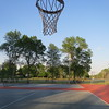 Playing basketball after a game *doubles) with Paul J. earlier (Tuesday, May 24th 2016)