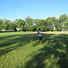 August 4th 2016-playing soccer with friends at Green River Park