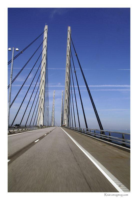 Öresundsbron, gate to Denmark