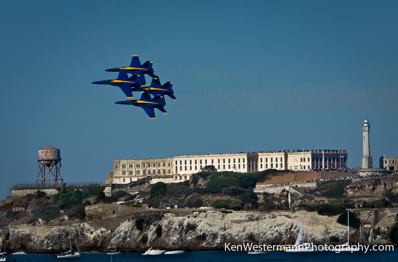 2008 Blue Angels Airshow, San Francisco