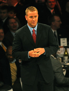 Kirk Herbstreit was emcee for the Greater Cleveland Sports Awards Feb. 3.  Steve Manheim