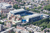 Aerial photo of Stamford Bridge football ground.