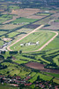 An aerial photo of Southwell Race Course.