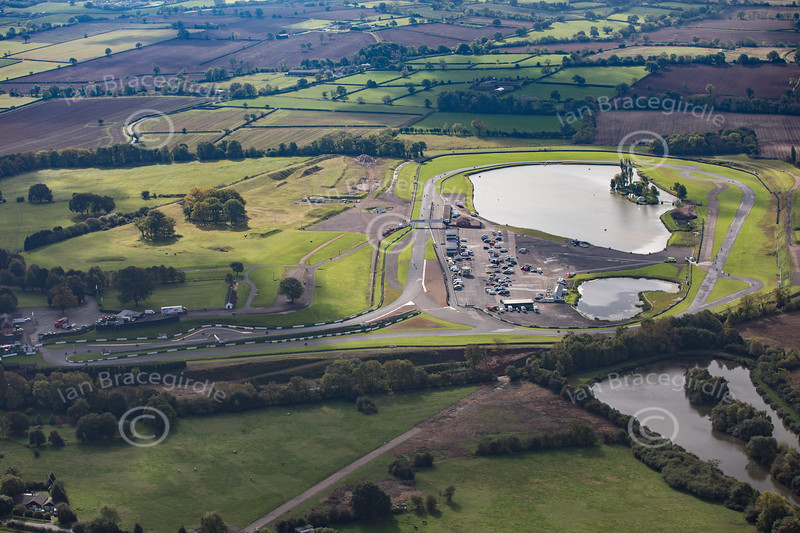 Aerial photo of Mallory Park.