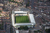 Aerial photo of Northampton Rugby Football Club