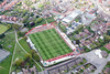 Aerial photo of Alfreton Town Football Club.
