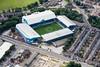 An aerial photo of Hillsborough, Sheffield Wednesday's Football Ground.
