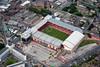 Aerial photo of Sheffield United Football Ground.
