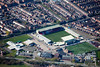 Sincil Bank Football Ground  from the air.