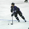 Ft Worth Brahma hockey player. Intrust Bank Arena. April, 2012.