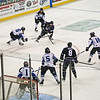 Wichita Thunder Hockey action. Intrust Bank Arena, Wichita, Kansas April 2012.