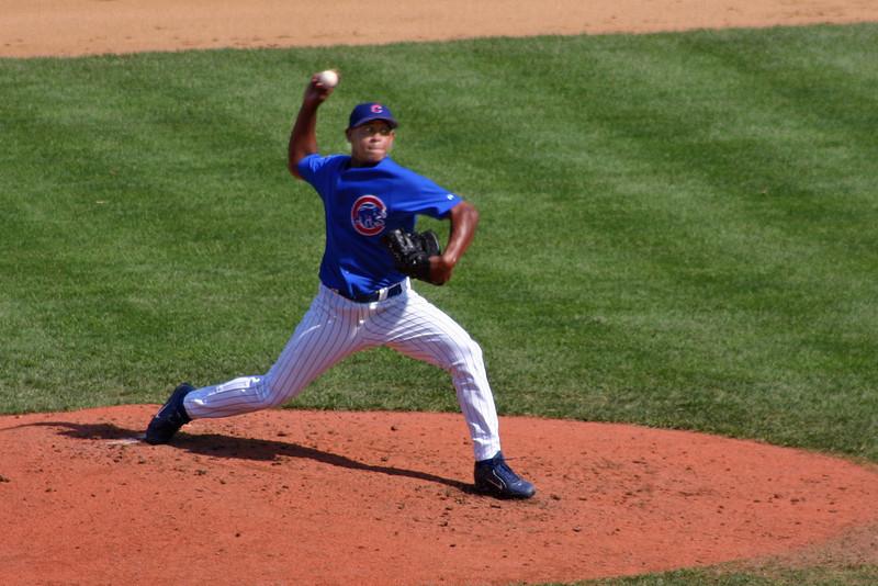 Chicago Cubs pitcher Carlos Marmol.