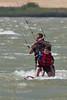 Kiteboarding, Sherman Island, CA<br /> <br /> 20100725-IMG_3622