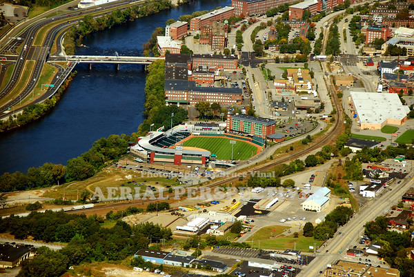 Merchants Auto Stadium in Manchester N.H. - Home of the New Hampshire Fisher Cats